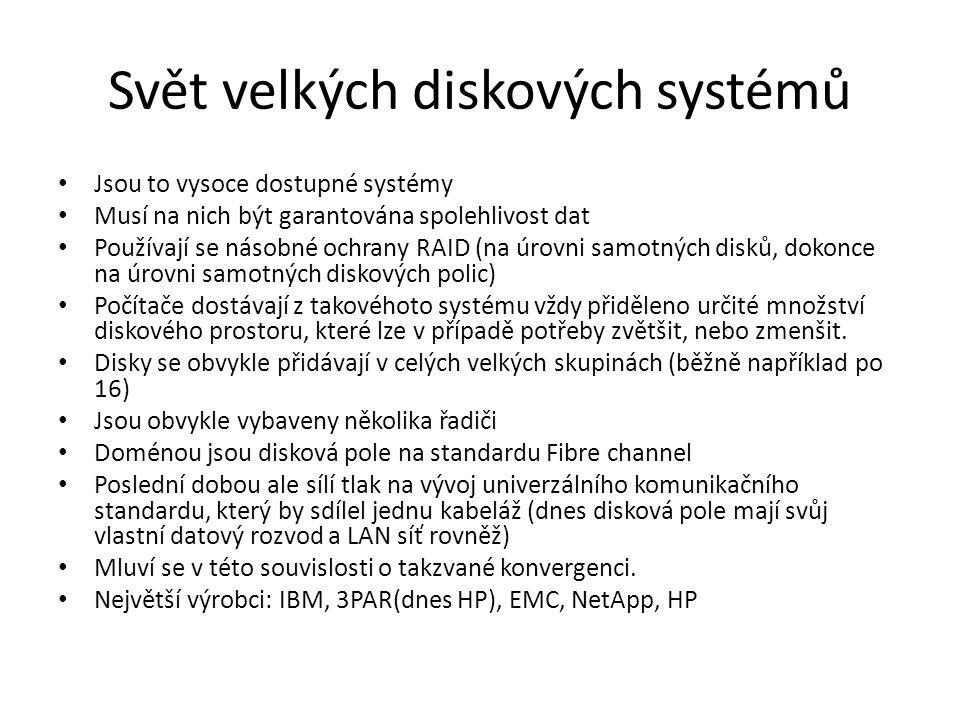 Svět velkých diskových systémů