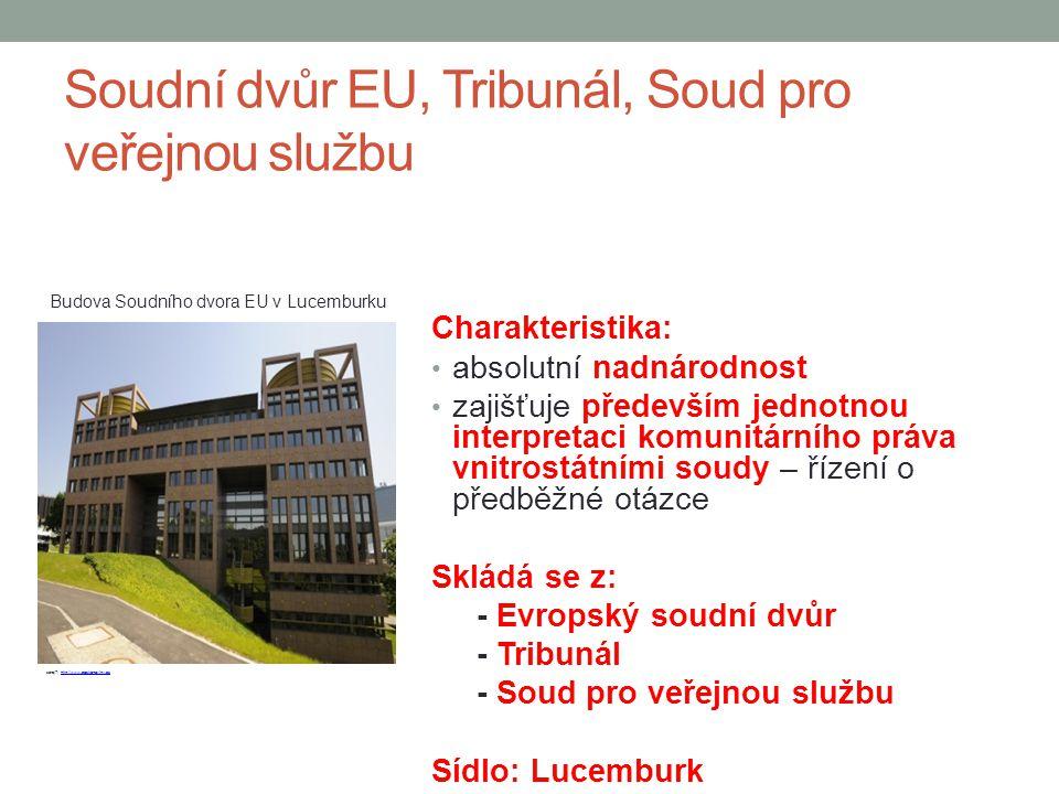 Soudní dvůr EU, Tribunál, Soud pro veřejnou službu