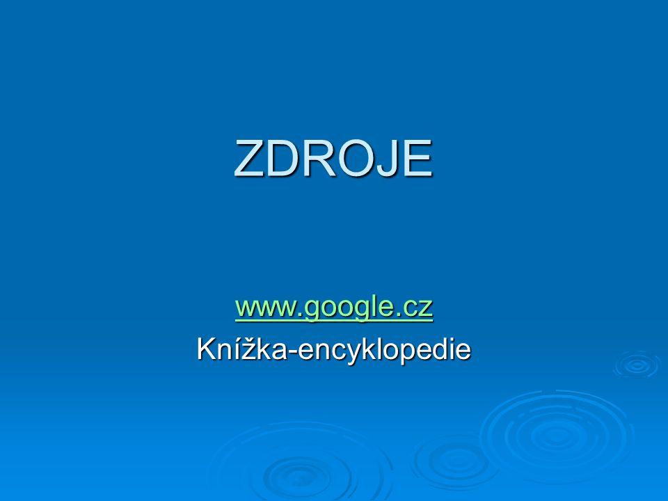 www.google.cz Knížka-encyklopedie