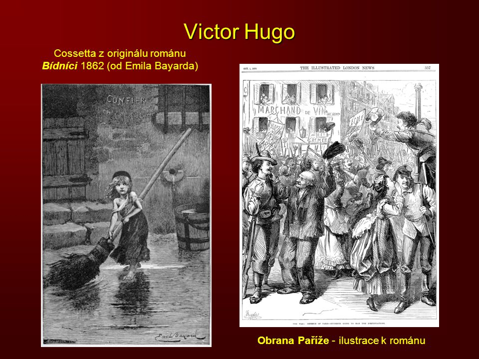 Victor Hugo Cossetta z originálu románu