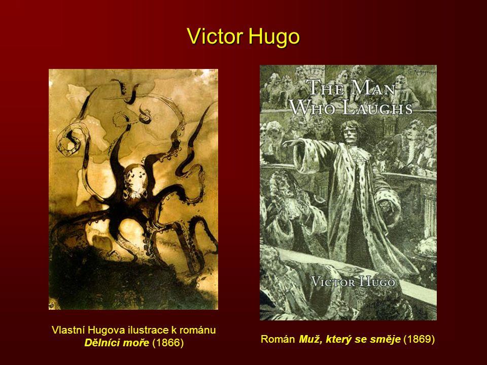 Vlastní Hugova ilustrace k románu