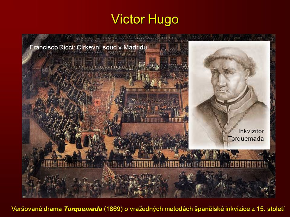 Victor Hugo Francisco Ricci: Církevní soud v Madridu