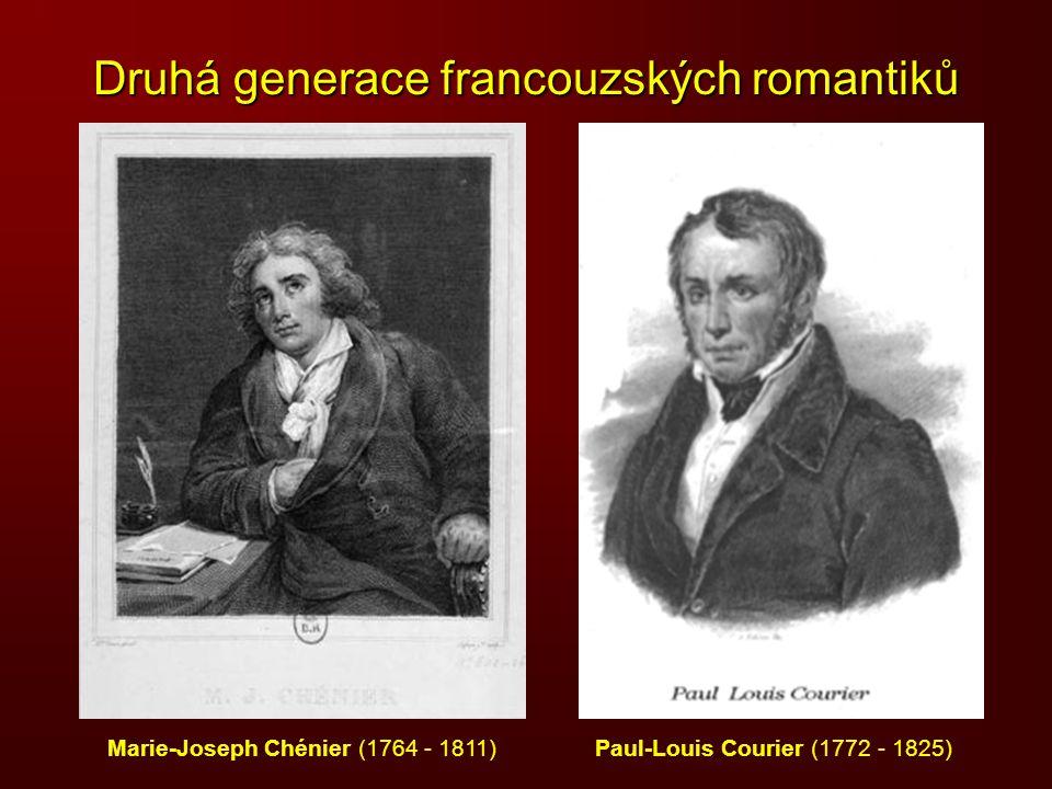 Druhá generace francouzských romantiků