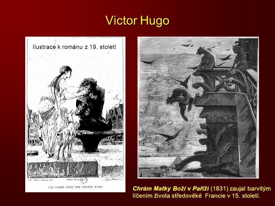 Victor Hugo Ilustrace k románu z 19. století