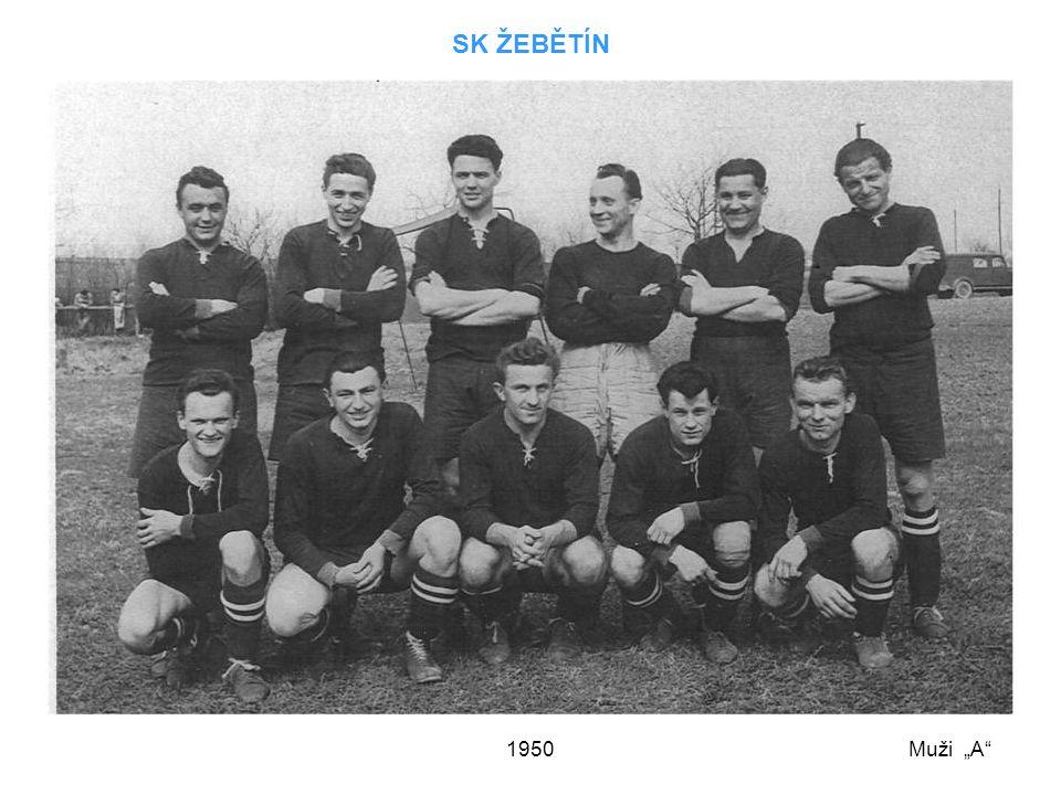 """SK ŽEBĚTÍN 1950 Muži """"A"""
