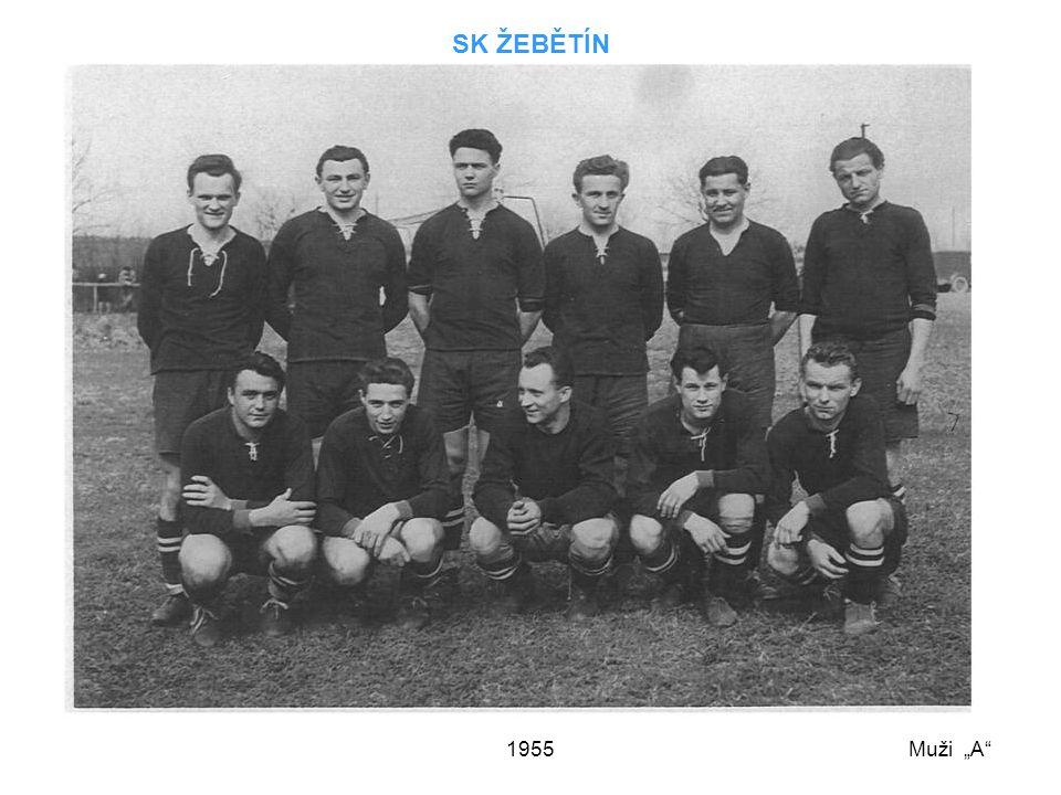 """SK ŽEBĚTÍN 1955 Muži """"A"""
