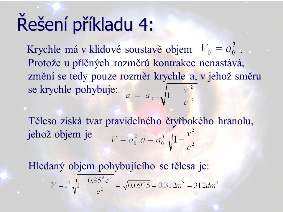 Řešení příkladu 4: