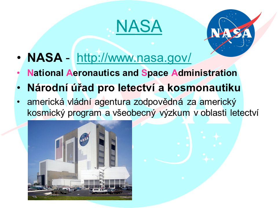 NASA NASA - http://www.nasa.gov/