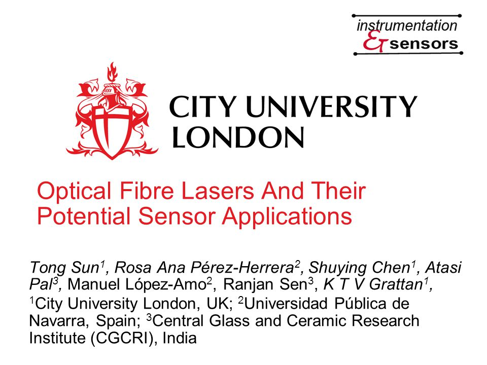Optical Fibre Lasers And Their Potential Sensor Applications