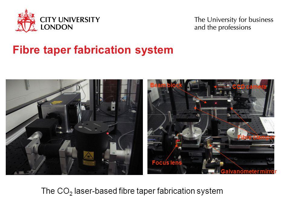 Fibre taper fabrication system