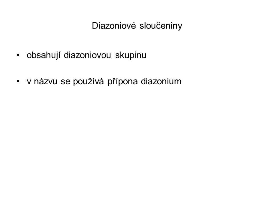 Diazoniové sloučeniny