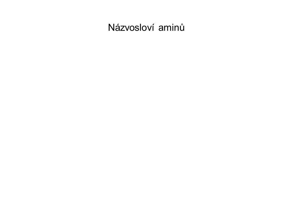 Názvosloví aminů