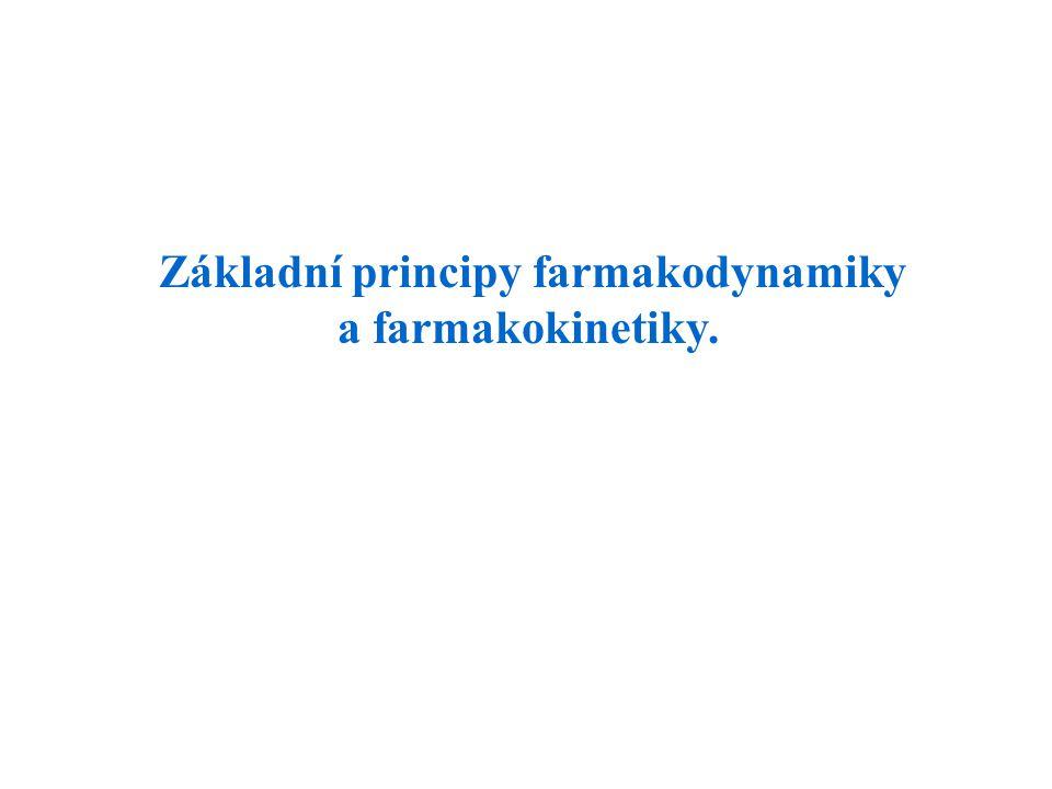 Základní principy farmakodynamiky