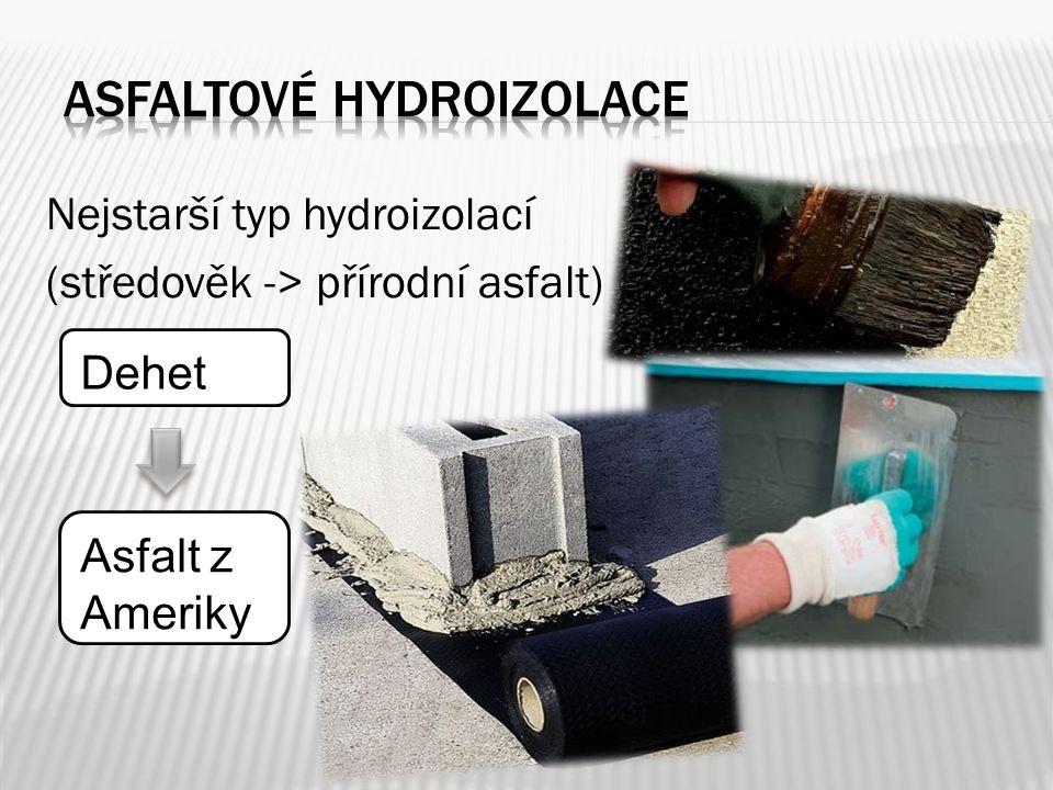 Asfaltové hydroizolace