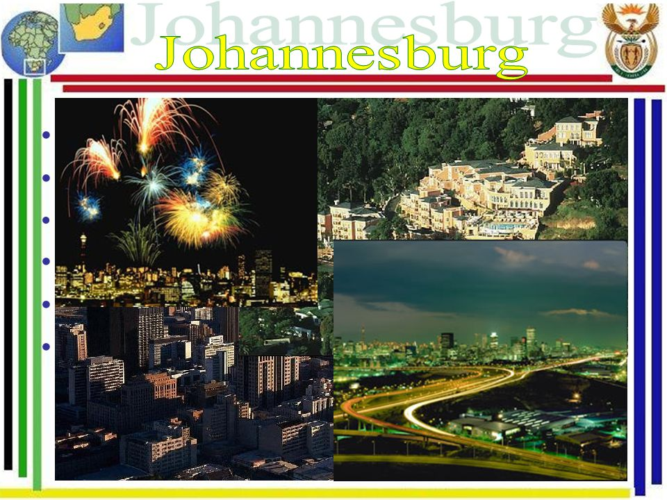 Johannesburg Hospodářské a bankovní centrum země