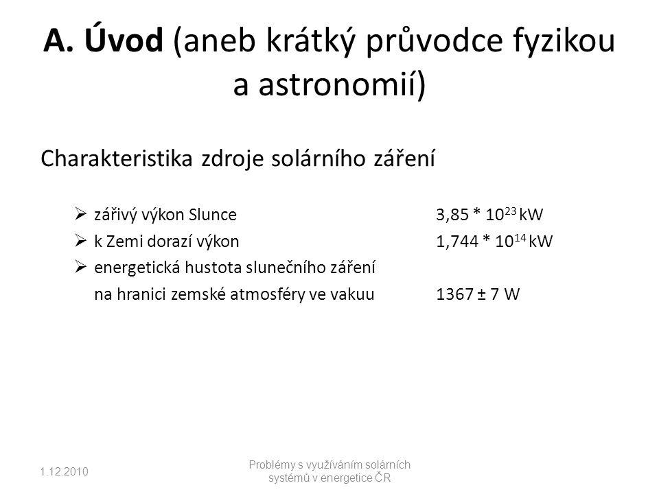 A. Úvod (aneb krátký průvodce fyzikou a astronomií)