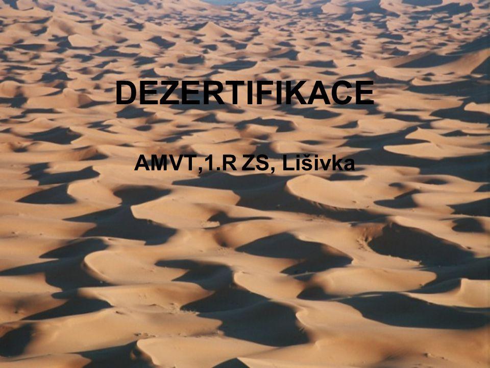 DEZERTIFIKACE AMVT,1.R ZS, Lišivka