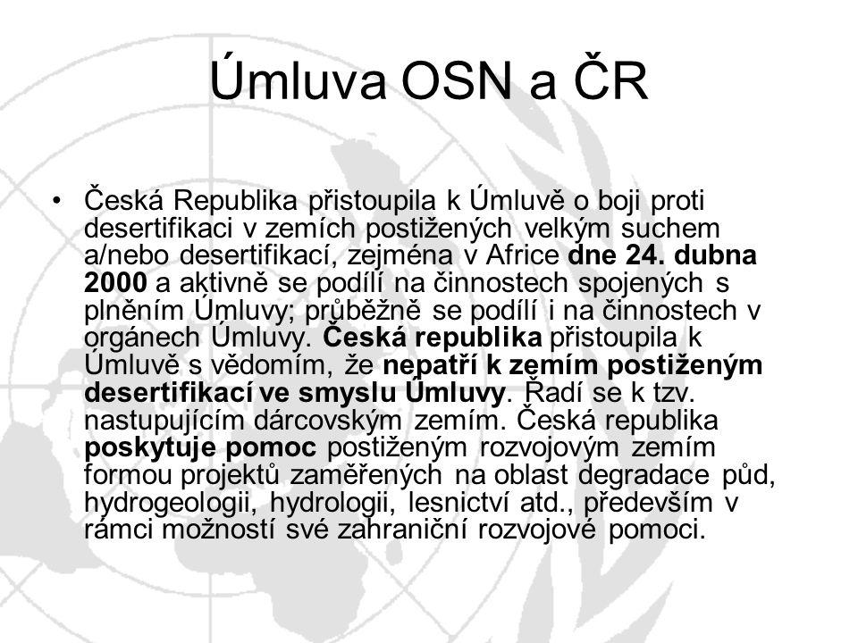 Úmluva OSN a ČR