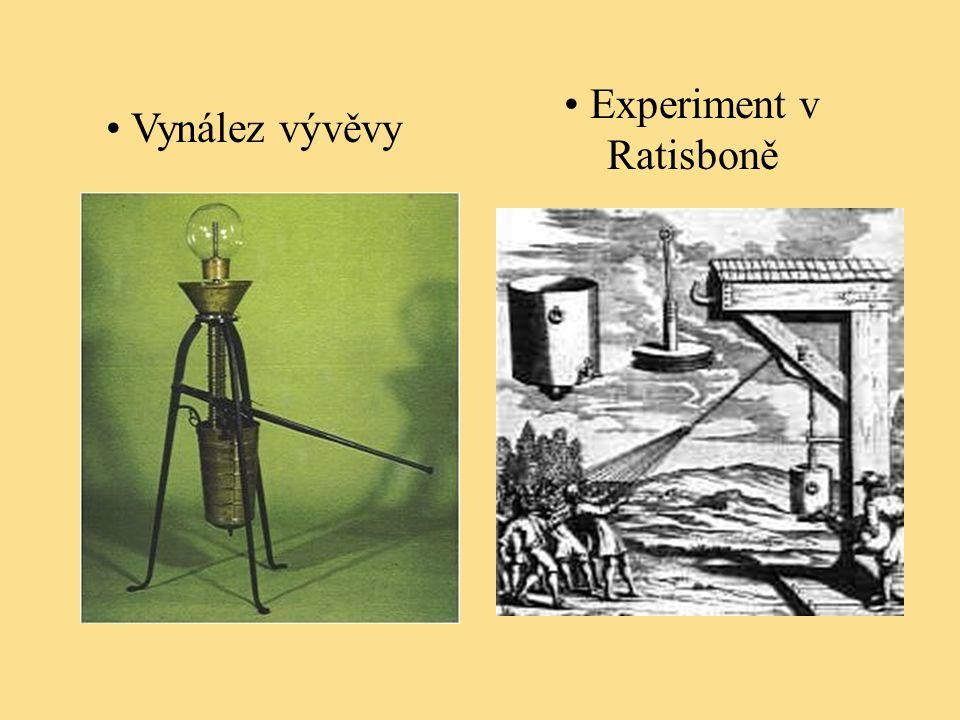 Experiment v Ratisboně