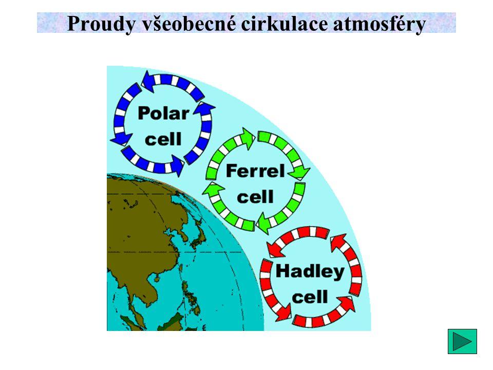 Proudy všeobecné cirkulace atmosféry
