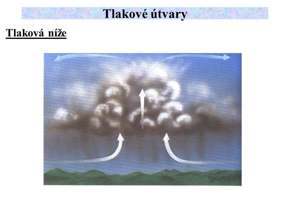 Tlakové útvary Tlaková níže