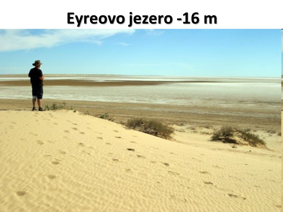 Eyreovo jezero -16 m