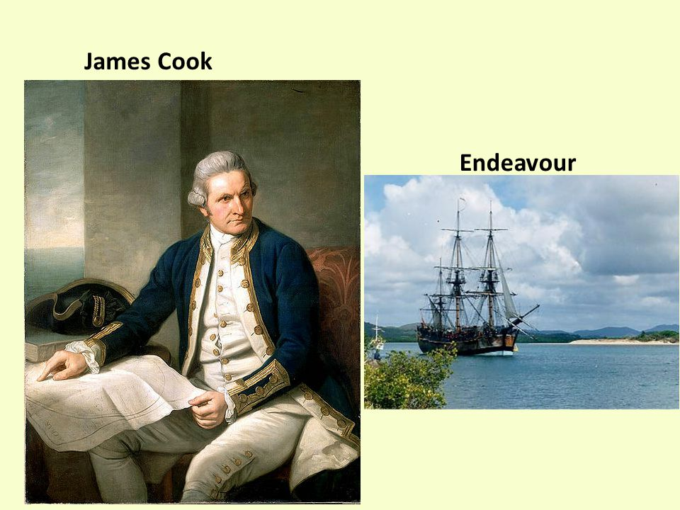 James Cook Endeavour