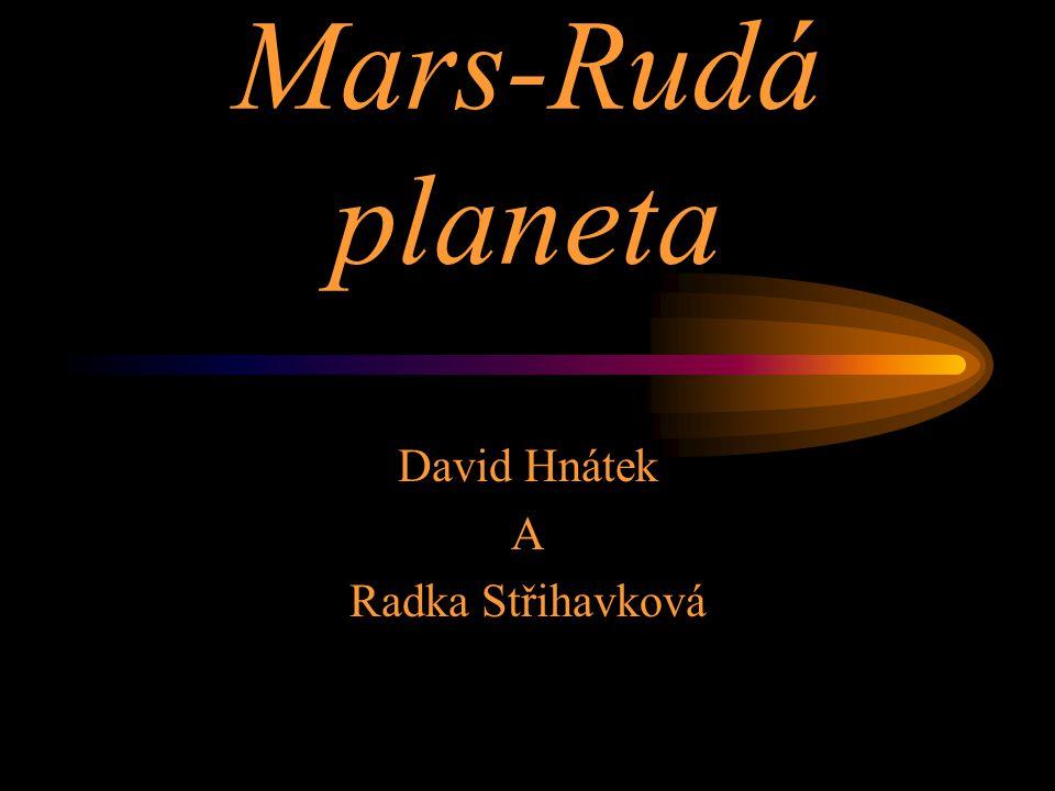 David Hnátek A Radka Střihavková
