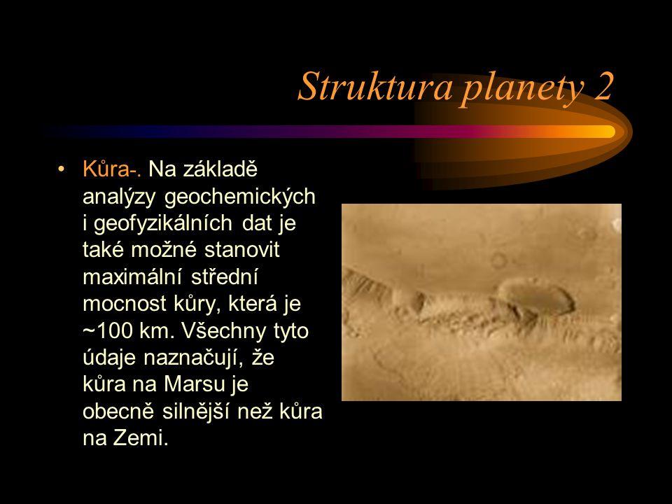 Struktura planety 2