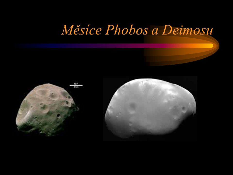 Měsíce Phobos a Deimosu