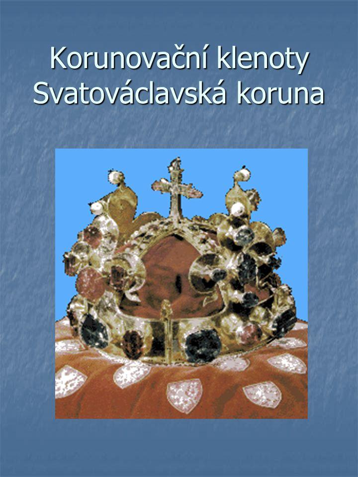 Korunovační klenoty Svatováclavská koruna