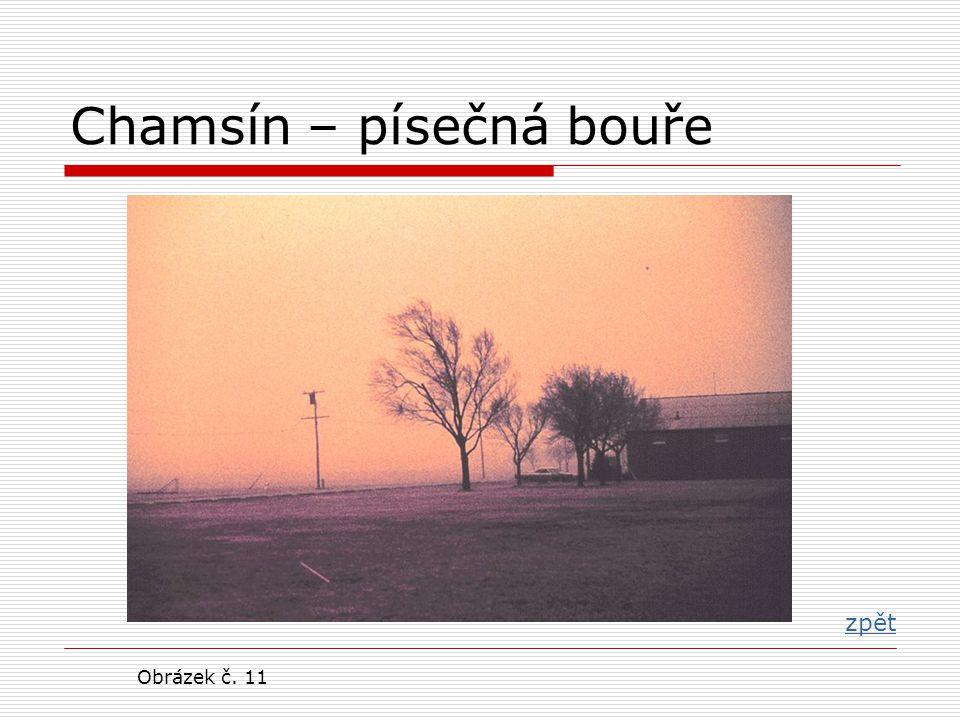 Chamsín – písečná bouře