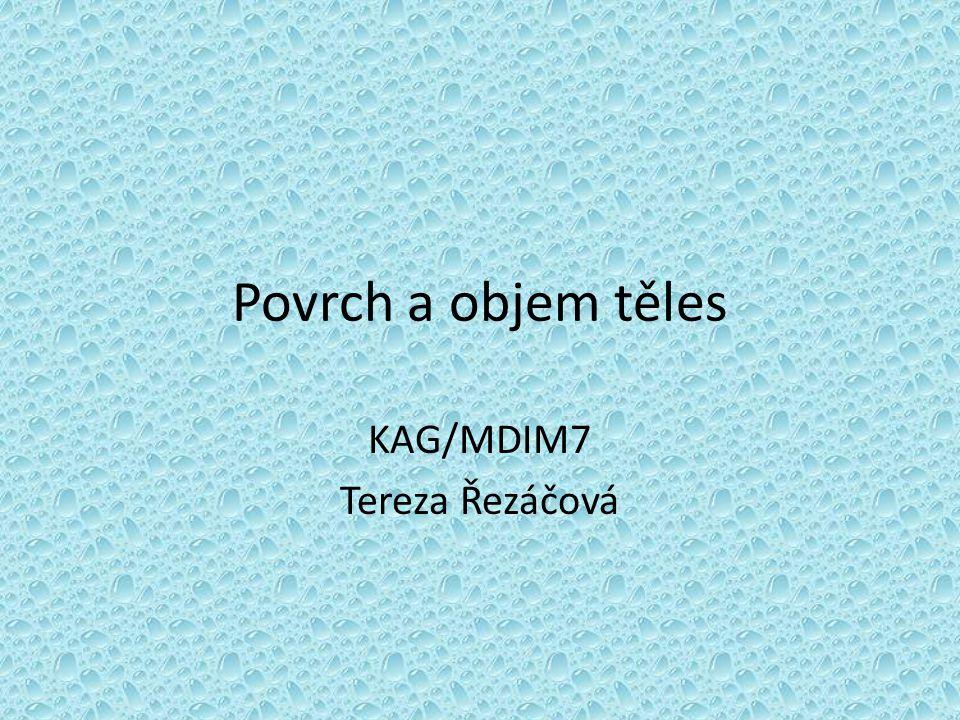 KAG/MDIM7 Tereza Řezáčová