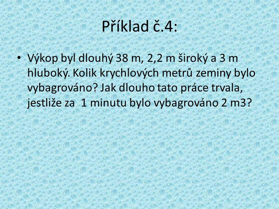 Příklad č.4: