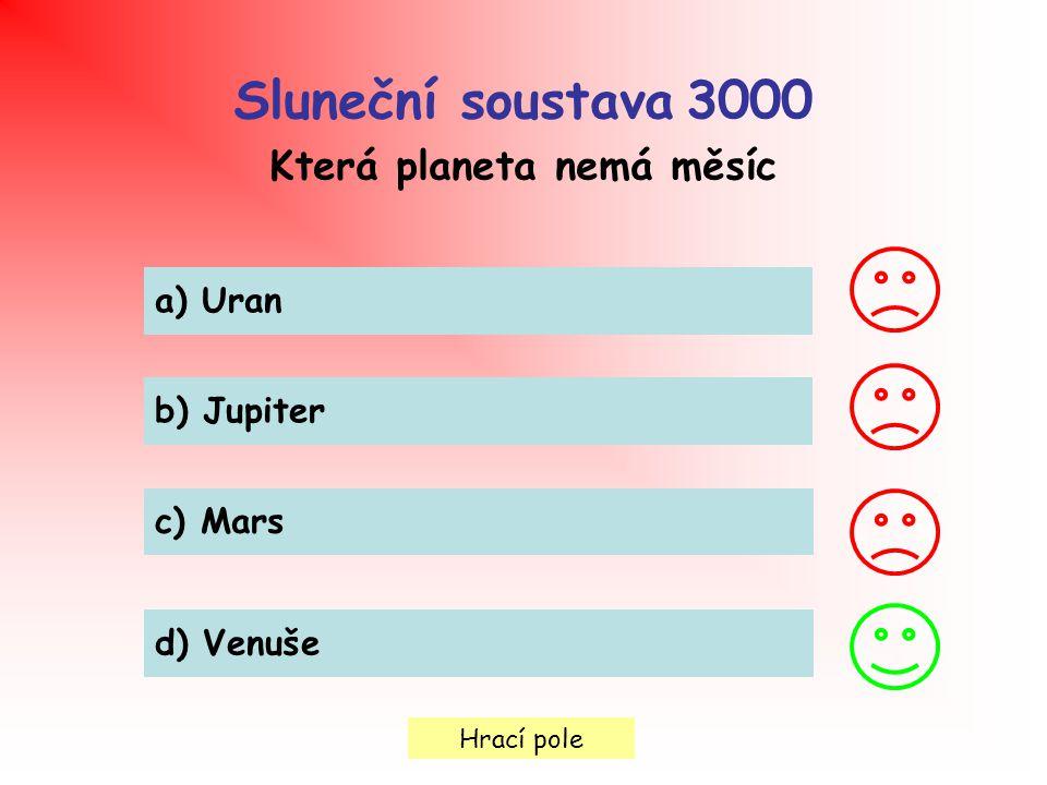 Která planeta nemá měsíc