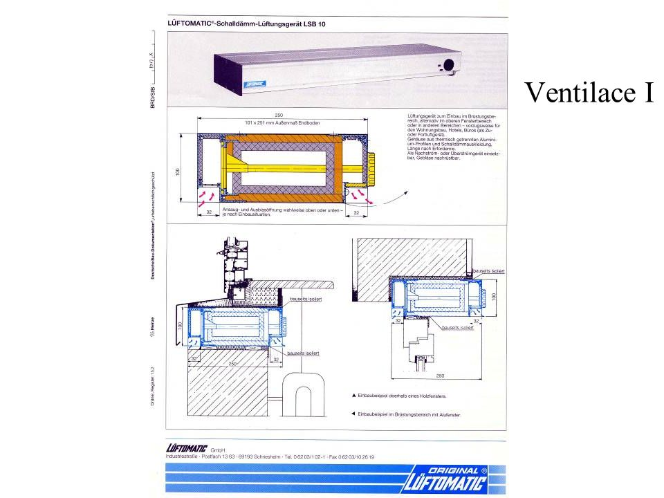 Ventilace I