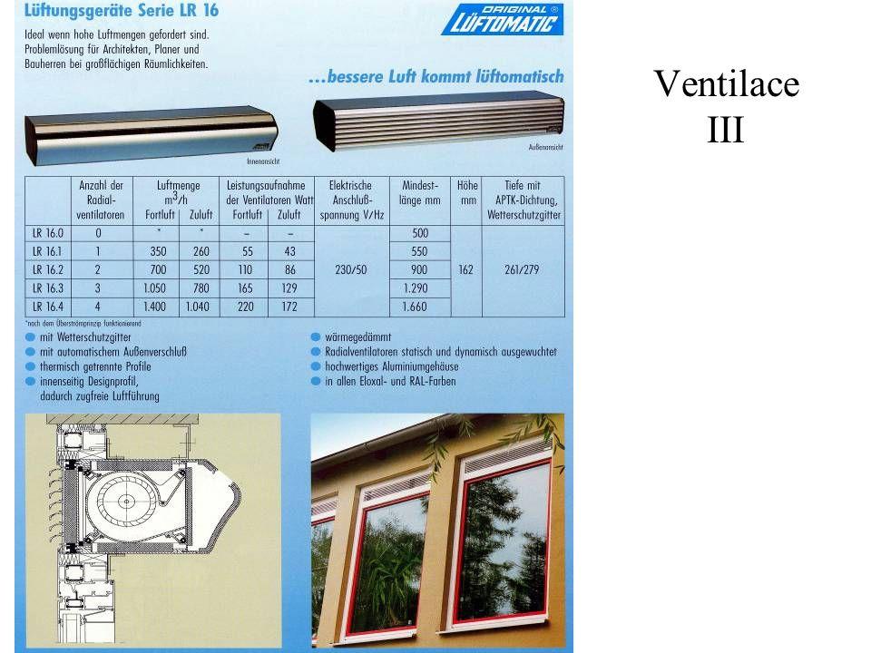 Ventilace III
