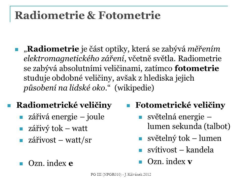 Radiometrie & Fotometrie