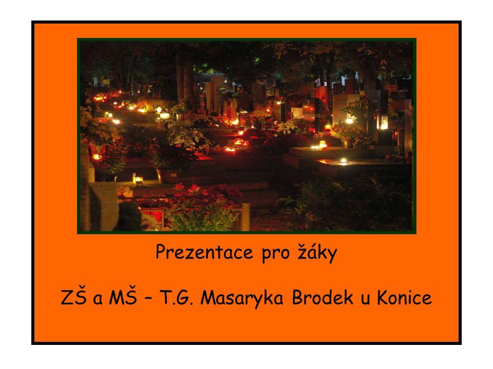 ZŠ a MŠ – T.G. Masaryka Brodek u Konice