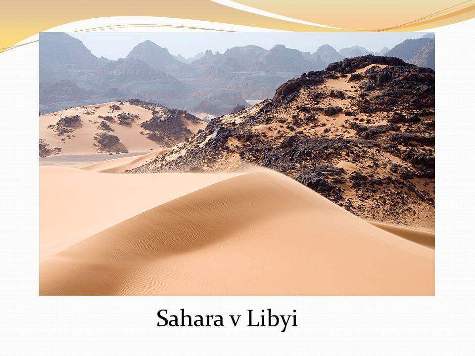 Sahara v Libyi