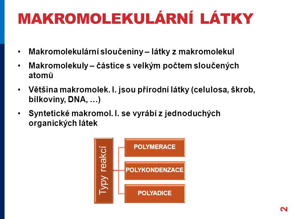 makromolekulární látky
