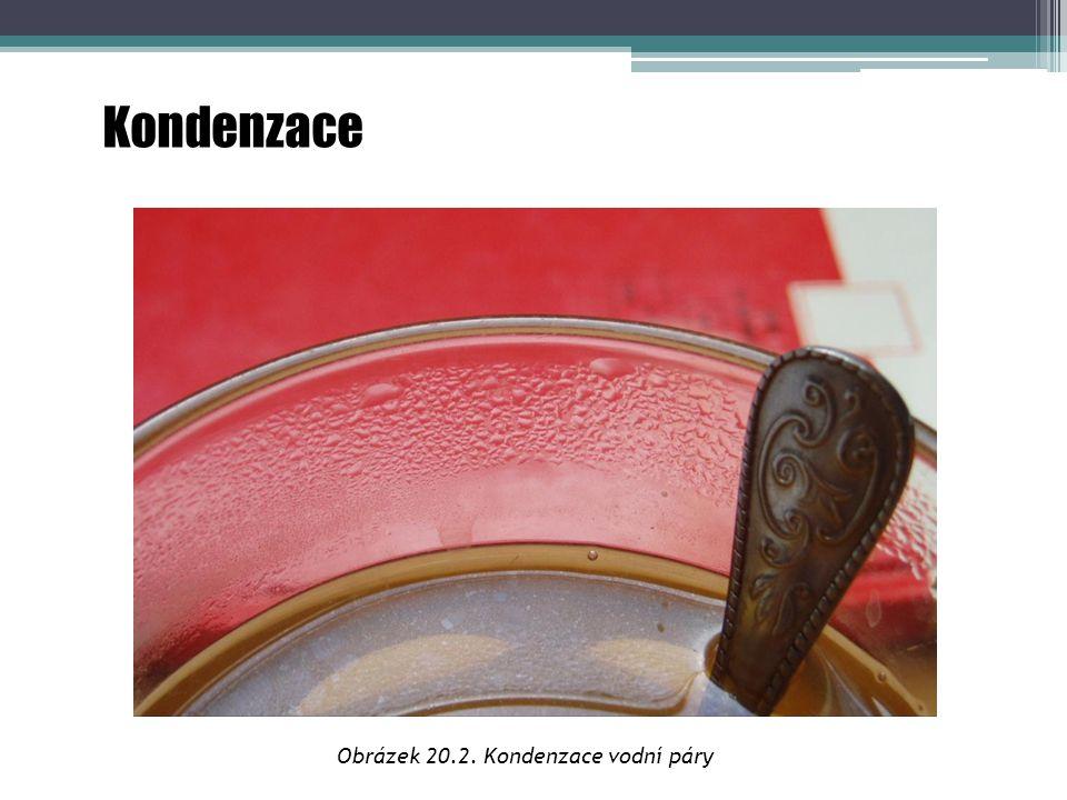 Obrázek 20.2. Kondenzace vodní páry
