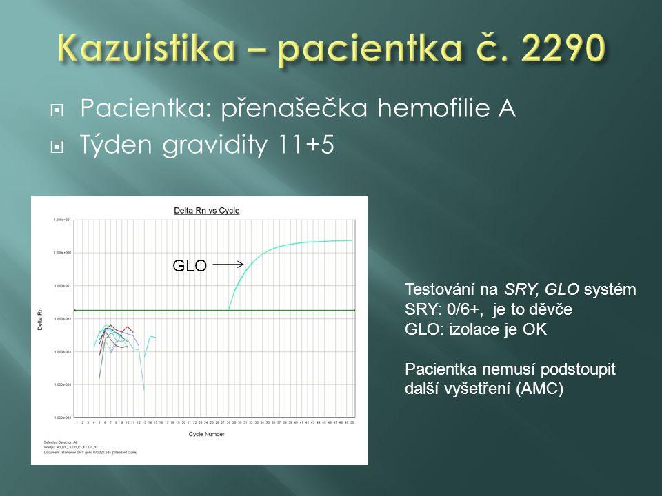 Kazuistika – pacientka č. 2290