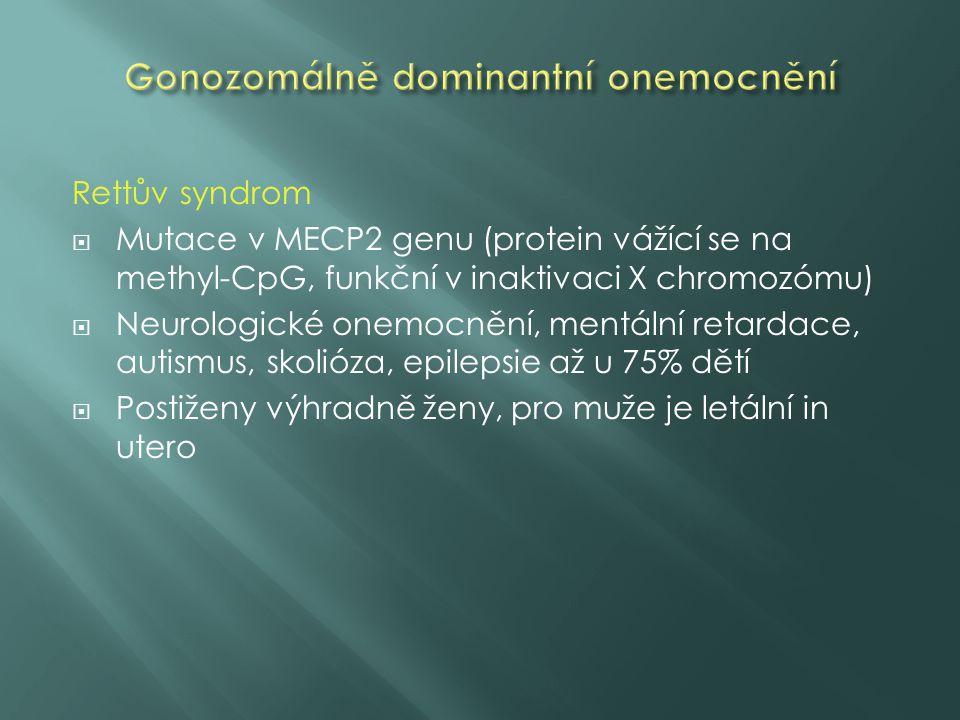 Gonozomálně dominantní onemocnění