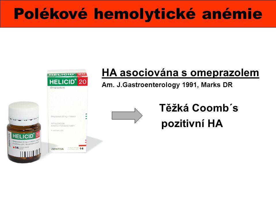 Polékové hemolytické anémie