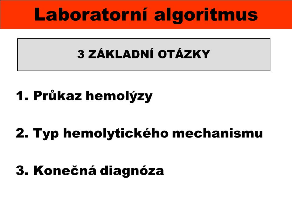 Laboratorní algoritmus