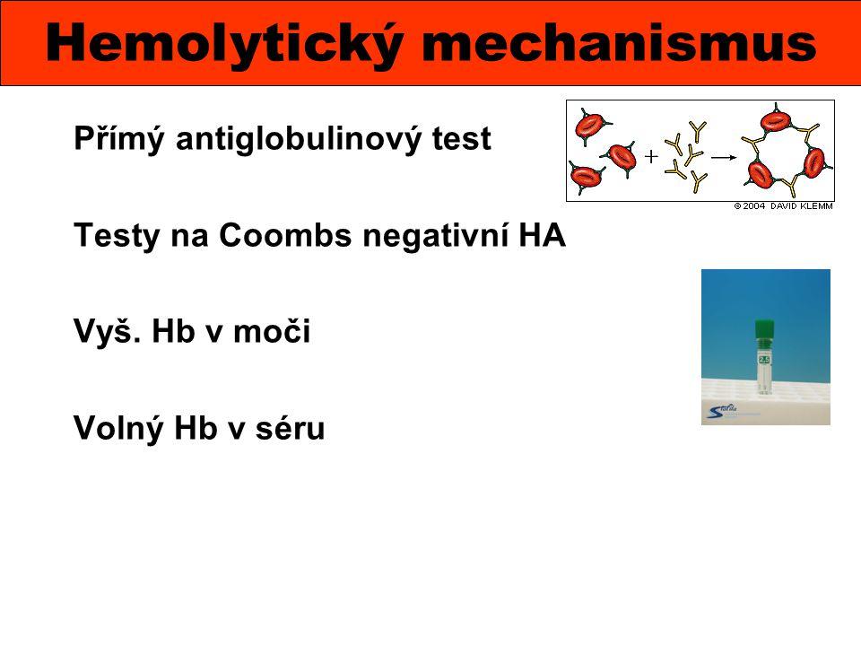 Hemolytický mechanismus