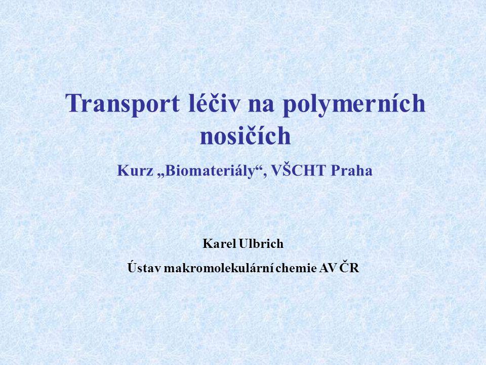 Transport léčiv na polymerních nosičích