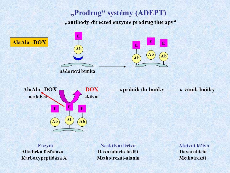 """Prodrug systémy (ADEPT)"