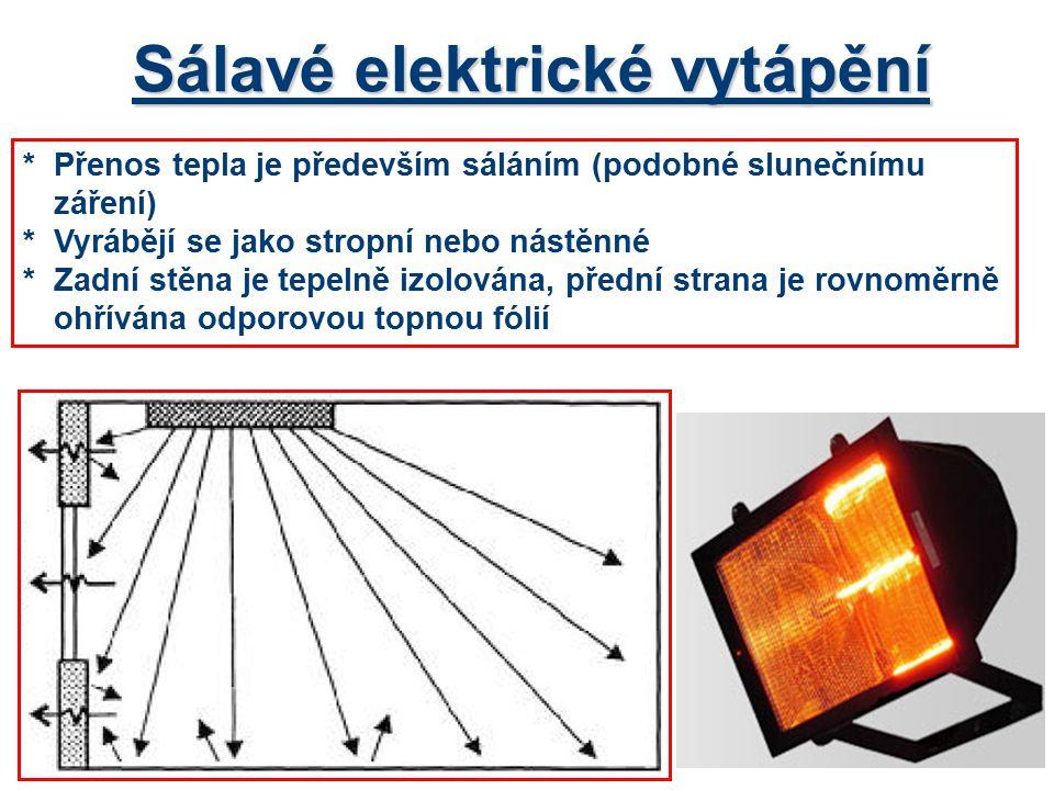 Sálavé elektrické vytápění